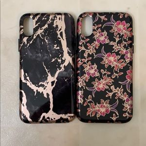 2 Velvet Caviar cases for IPHONE X/XS